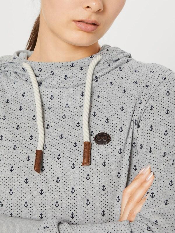 naketano Sweatshirt 'Mandy Ankerdizzel' in dunkelblau