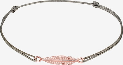ELLI Armband in rosegold / silbergrau, Produktansicht