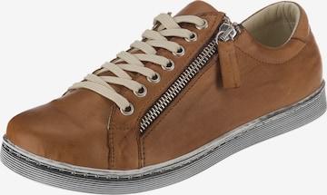 ANDREA CONTI Sneakers in Brown