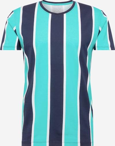 EDC BY ESPRIT Shirt in de kleur Aqua / Donkerblauw, Productweergave