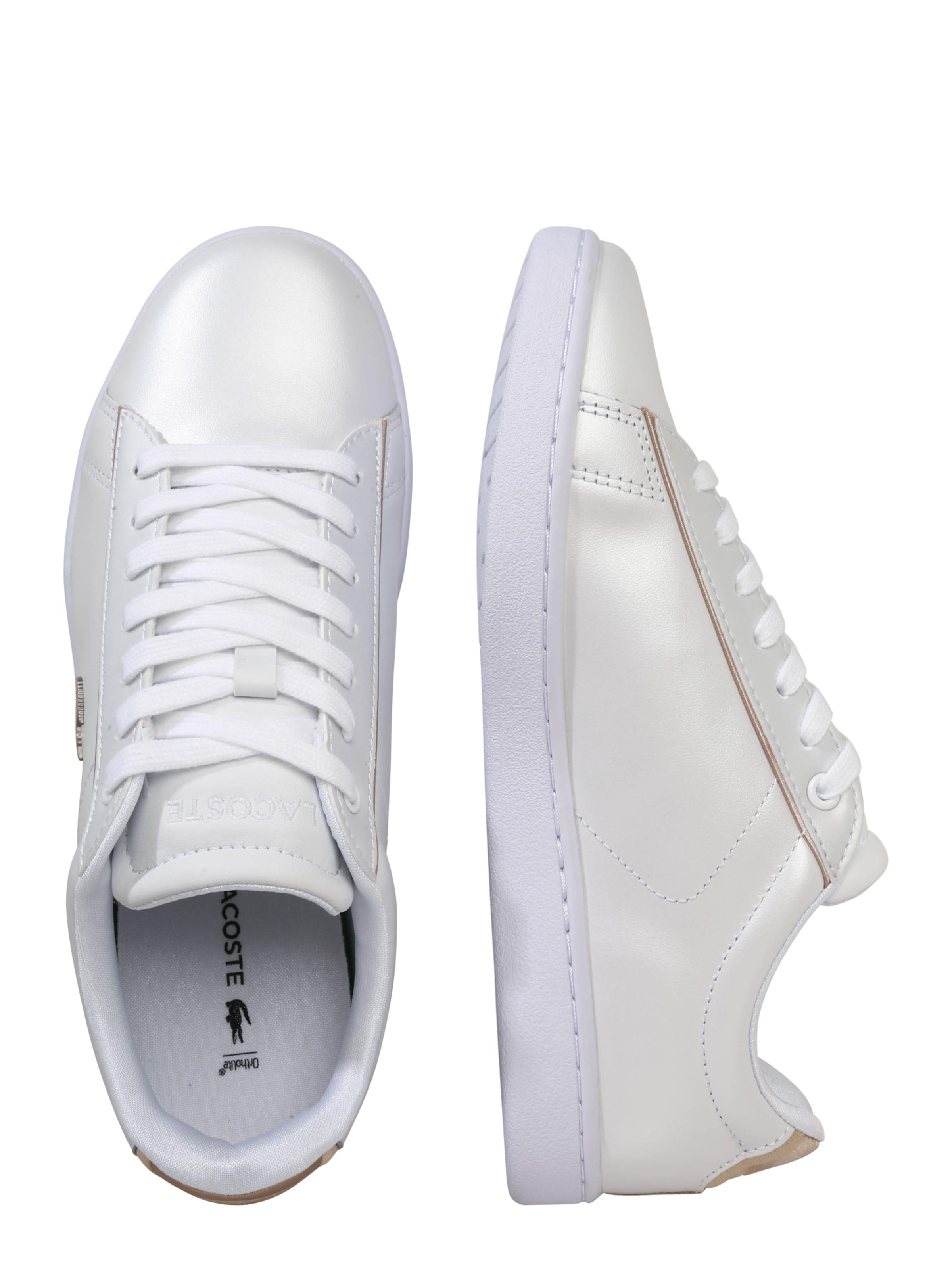 In Evo' Lacoste Sneaker GoldWeiß 'carnaby TwOkiXPZu