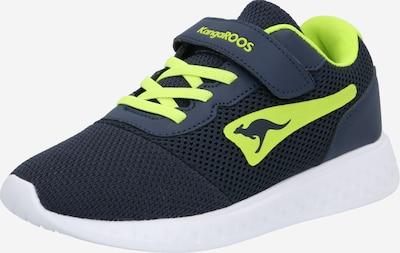 KangaROOS Sneaker 'K-Mile EV' in navy / limette, Produktansicht