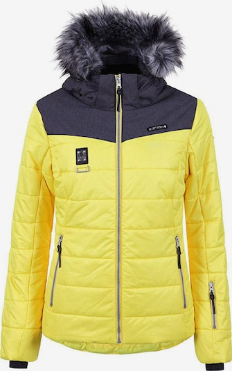 ICEPEAK Jacke 'Viroqua' in gelb / graphit, Produktansicht