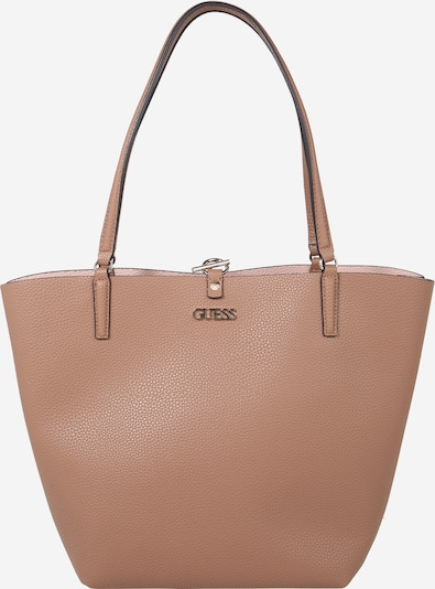 GUESS Shopper 'Alby' in beige / braun, Produktansicht