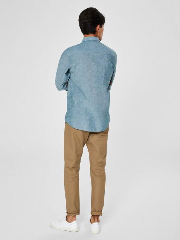 SELECTED HOMME HOMME HOMME Hemd in pastellblau  Markenkleidung für Männer und Frauen d8c507