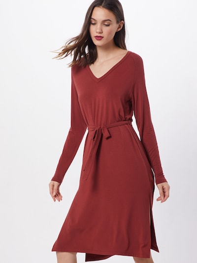 mbym Kleid 'Ryan' in rostbraun, Modelansicht