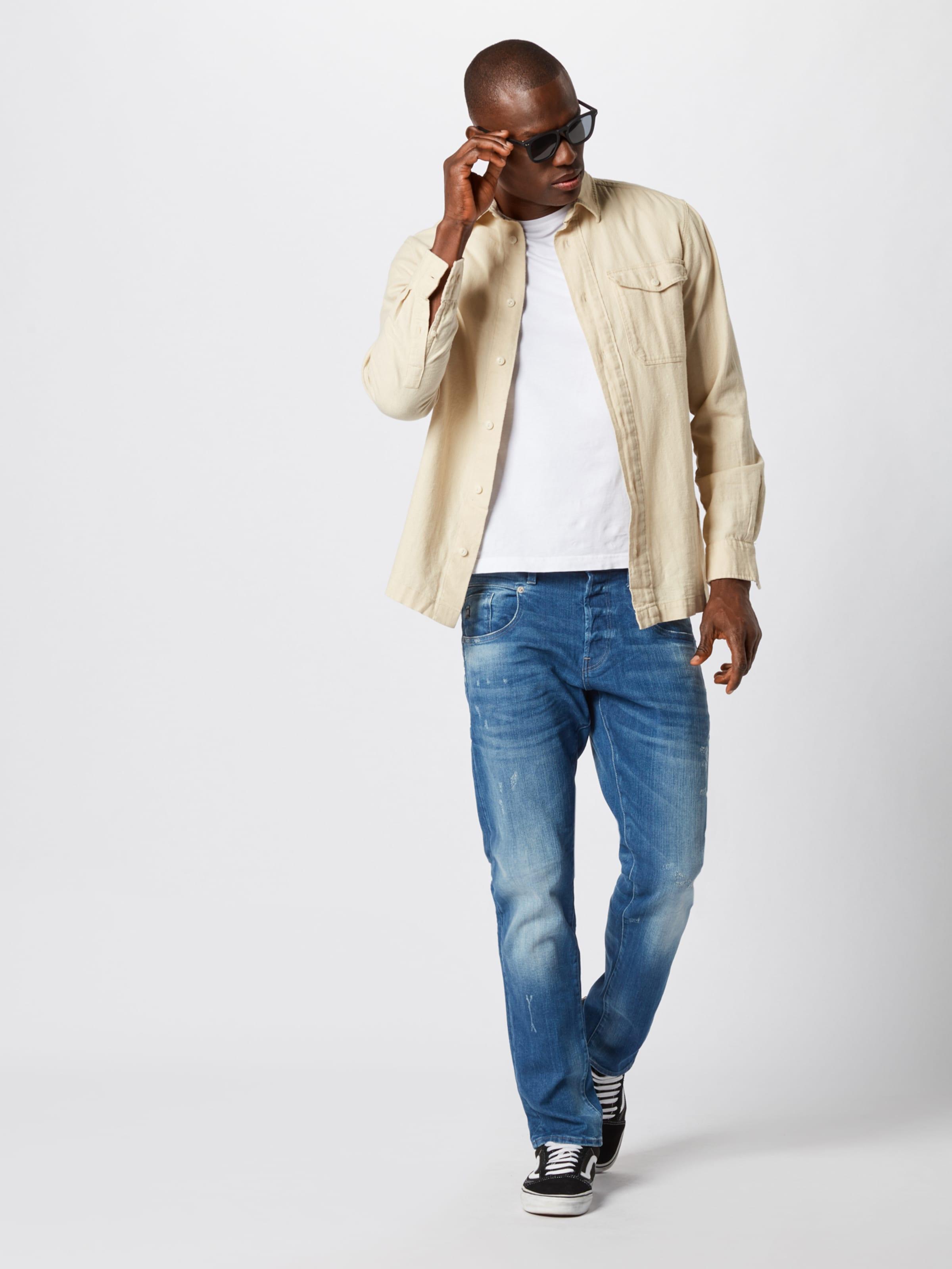 G Raw Denim Jean Flightsuit' Bleu star En 'radar rCQsBthdx
