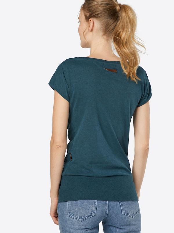 naketano T-Shirt 'Dirty Wolle'
