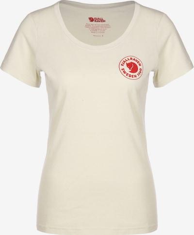 Fjällräven T-Shirt ' 1960 Logo W ' in weiß, Produktansicht