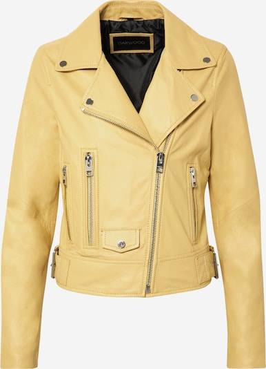 OAKWOOD Lederjacke 'Phoebe' in gelb, Produktansicht