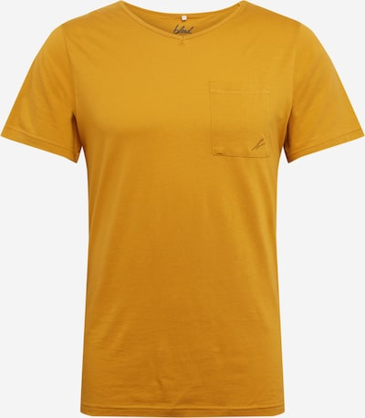 bleed clothing T-Shirt en moutarde, Vue avec produit