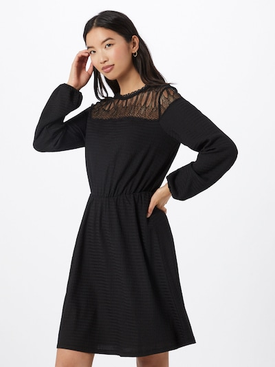 ABOUT YOU Kleid 'Jamie' in schwarz: Frontalansicht