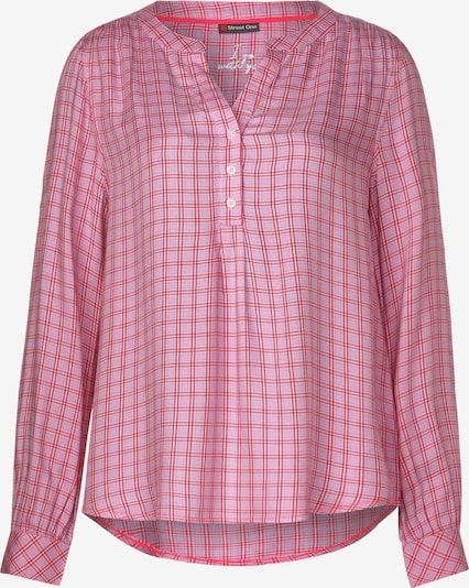 STREET ONE Bluse in pink / rot, Produktansicht