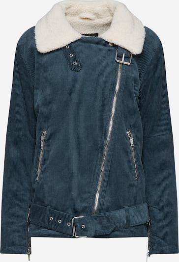Review Prechodná bunda 'BIKER CORDUROY' - béžová / modrosivá, Produkt