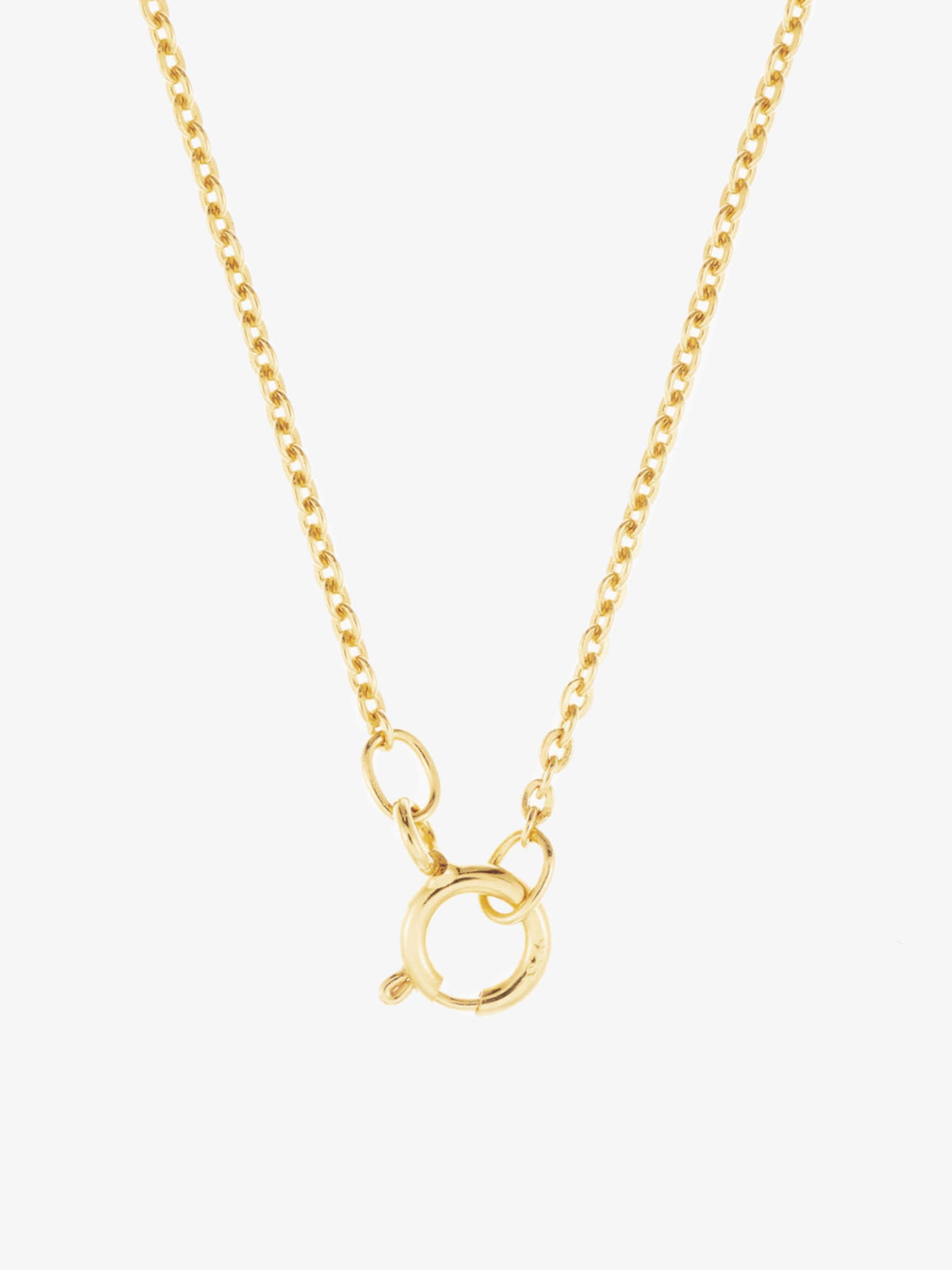 Gold Id Fine 'steinbock' In Halskette 8vnwmN0
