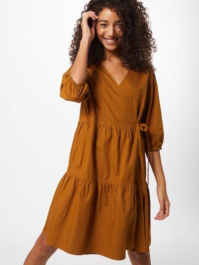 OBJECT Kleid 'SCHINNI' in karamell, Modelansicht