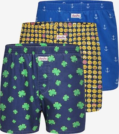 Sugar Pine Boxershorts in de kleur Gemengde kleuren, Productweergave
