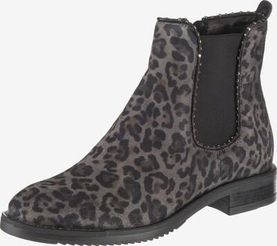 JOLANA & FENENA Chelsea Boots in braun / dunkelgrau / schwarz, Produktansicht