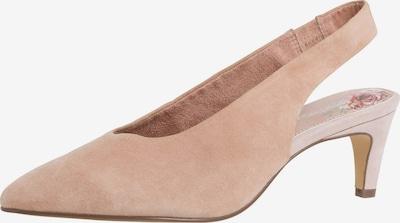 TAMARIS Slingpumps in rosé, Produktansicht
