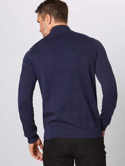 Megztinis '12GG 1/4 ZIP SWEATER' iš IZOD , spalva - tamsiai mėlyna: Vaizdas iš galinės pusės