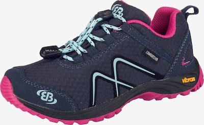 EB Outdoorschuhe 'TEX Guide' in blau / neonpink, Produktansicht