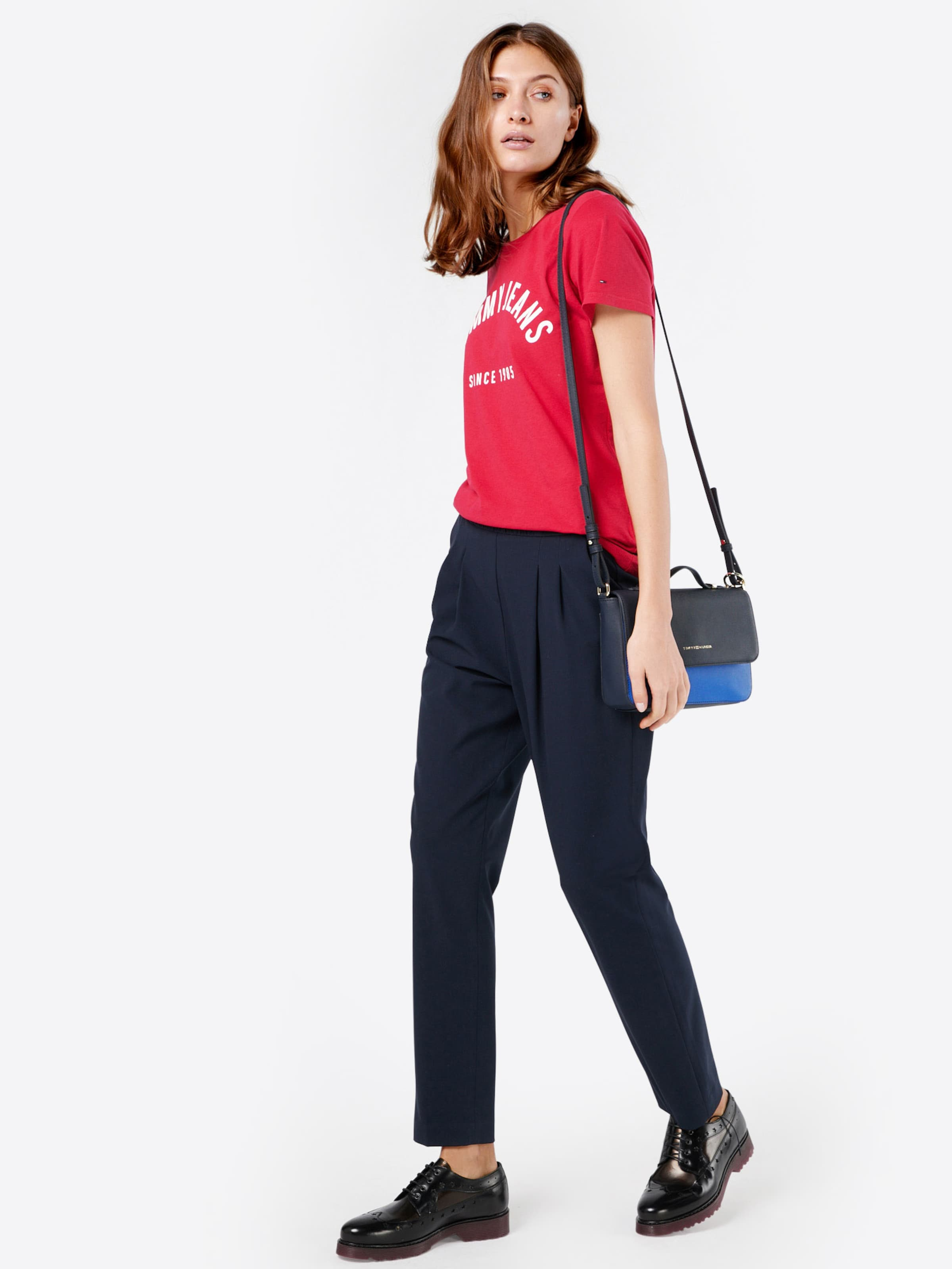 Spielraum Online-Shop Nicekicks Tommy Jeans T-Shirt mit Logo-Print Billig Perfekt w4ElkS