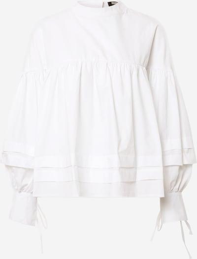 Fashion Union Chemisier 'Parlour' en blanc, Vue avec produit