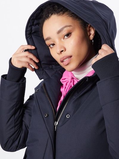 AIRFORCE Parka 'Herringbone' in navy | ABOUT YOU