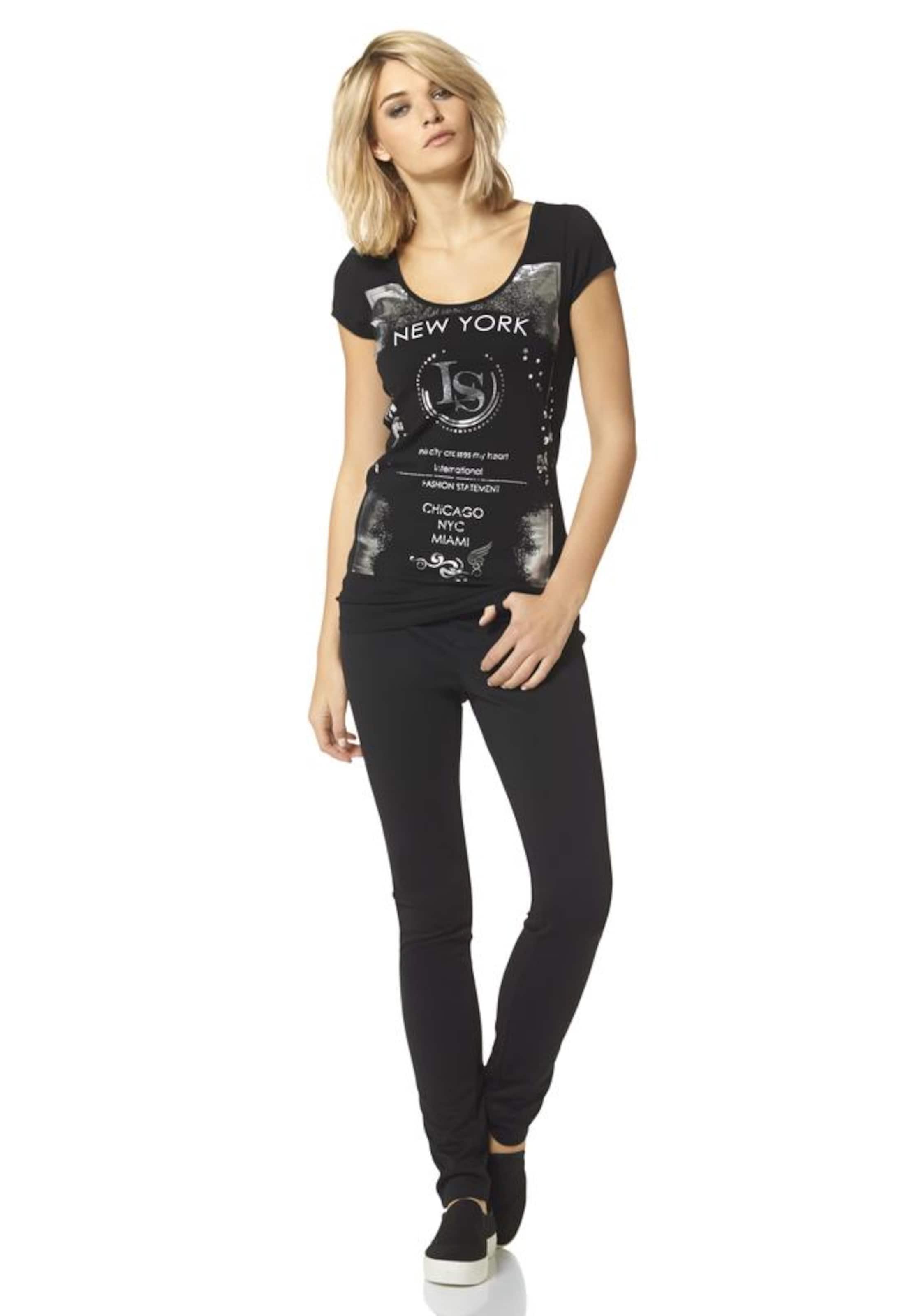 LAURA SCOTT Shirt mit Glanzprint Verkauf Neuer Gefälschte Online 4H84zsJaab