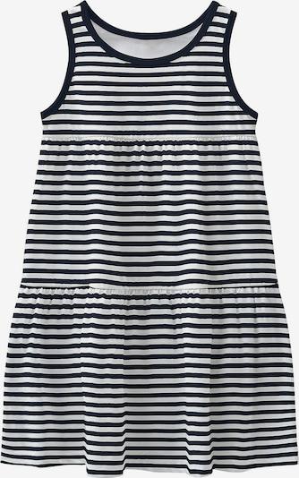 NAME IT Kleid 'Vigga' in kobaltblau / weiß, Produktansicht