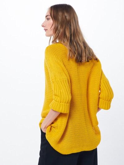 Megztinis 'VERA' iš Noisy may , spalva - geltona / aukso geltonumo spalva: Vaizdas iš galinės pusės