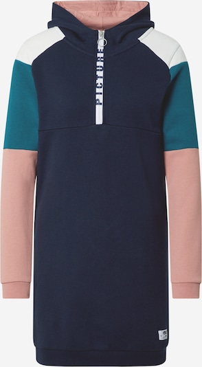 Picture Organic Clothing Sport-Kleid 'Pearl' in dunkelblau / grün / hellpink / weiß, Produktansicht