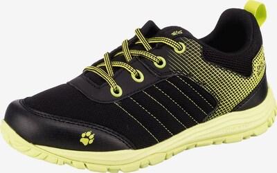 JACK WOLFSKIN Sneakers 'CASCADE' in gelb / schwarz, Produktansicht