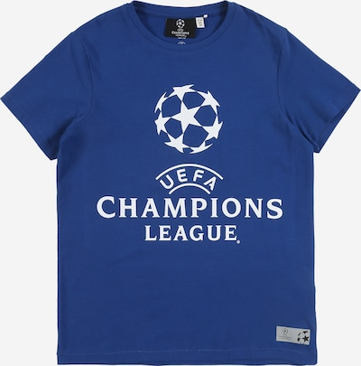 NAME IT Shirt 'UEFA MATEO' in dunkelblau: Frontalansicht