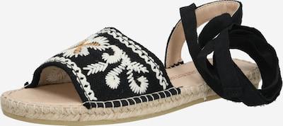 MACARENA Sandale 'PLAY174' in beige / schwarz, Produktansicht