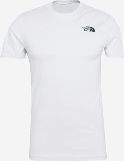 THE NORTH FACE T-Shirt 'M SS Redbox Cel' in taubenblau / weiß, Produktansicht