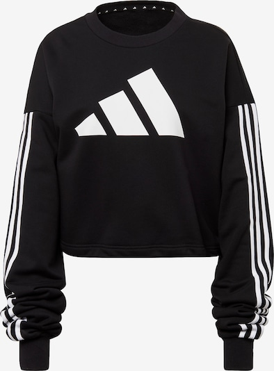 ADIDAS PERFORMANCE Sweatshirt 'Adjustable' in schwarz / weiß, Produktansicht