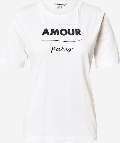Whistles T-Shirt 'Amour Paris' in schwarz / weiß, Produktansicht