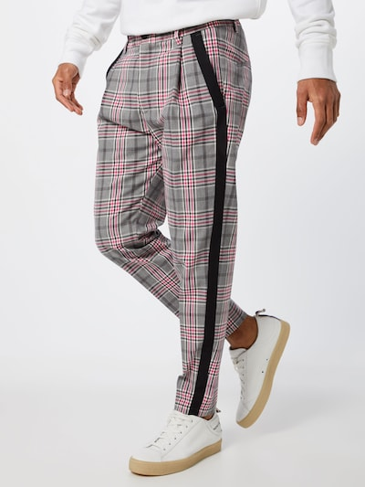 DRYKORN Pantalon en gris / rose: Vue de face