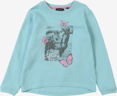 BLUE SEVEN Sweatshirt in türkis / aqua / mischfarben, Produktansicht