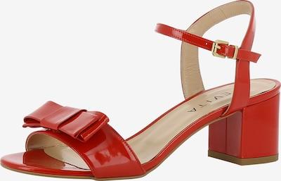 EVITA Sandalette 'MARIELLA' in rot: Frontalansicht