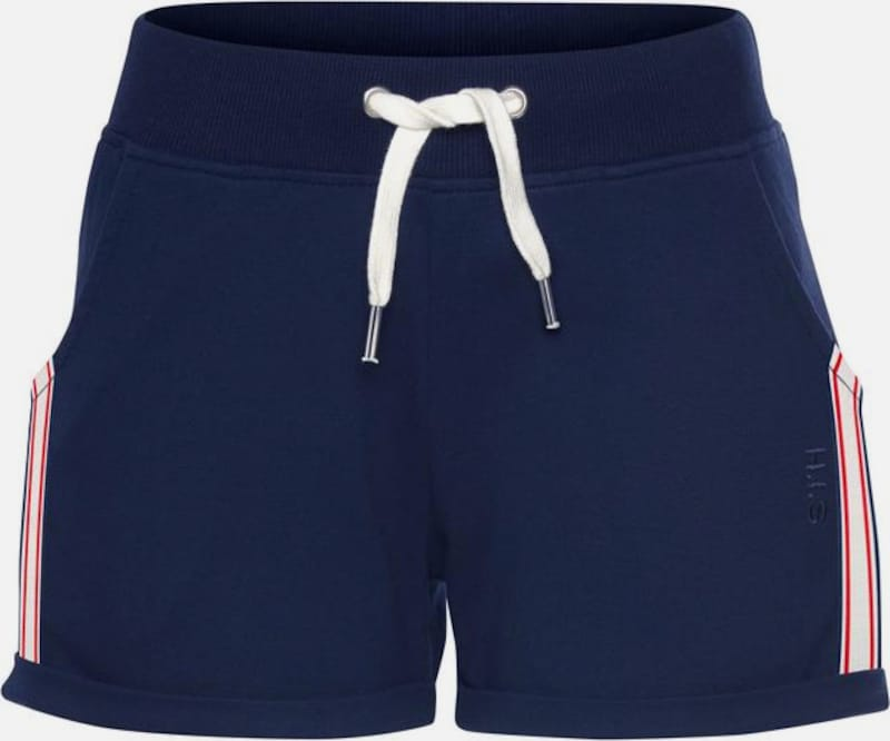 HIS JEANS Shorts in enzian, Produktansicht
