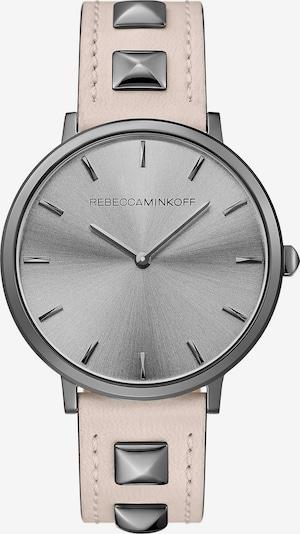 Rebecca Minkoff Damenuhr 'Major' in grau / rosa, Produktansicht