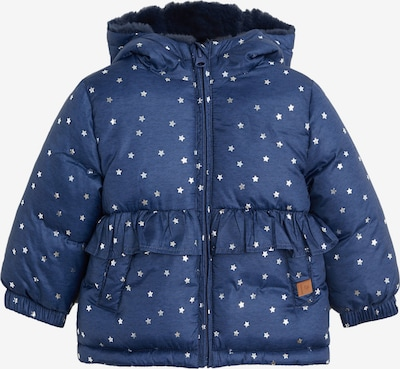 MANGO KIDS Zimska jakna 'JUNE'   mornarska / svetlo siva barva, Prikaz izdelka