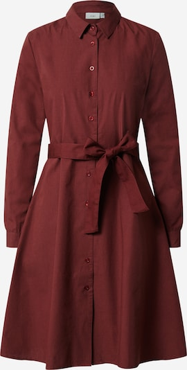 ICHI Kleid 'Sarah' in bordeaux, Produktansicht