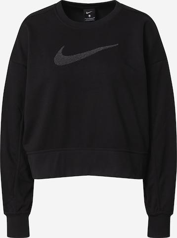 juoda NIKE Sportinio tipo megztinis