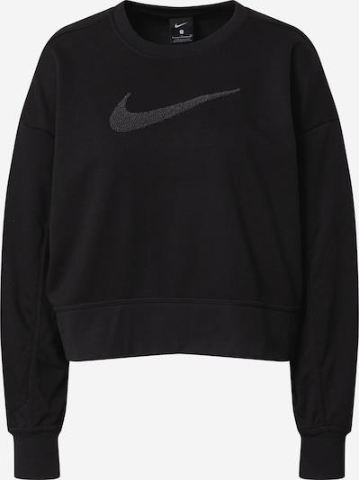 NIKE Sportiska tipa džemperis pelēks / melns, Preces skats