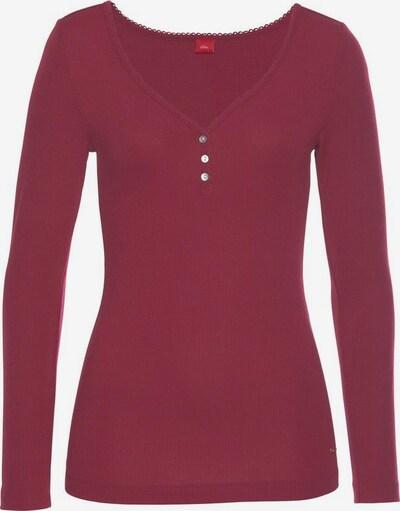s.Oliver Shirt in pastellrot, Produktansicht
