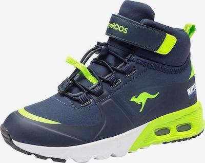 KangaROOS Sneaker 'KX-Hydro' in navy / limette, Produktansicht