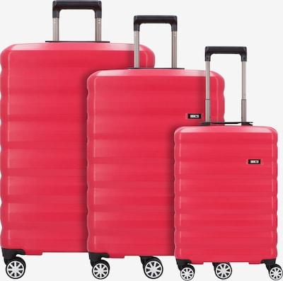 Bric's Ensemble de bagages en rouge, Vue avec produit